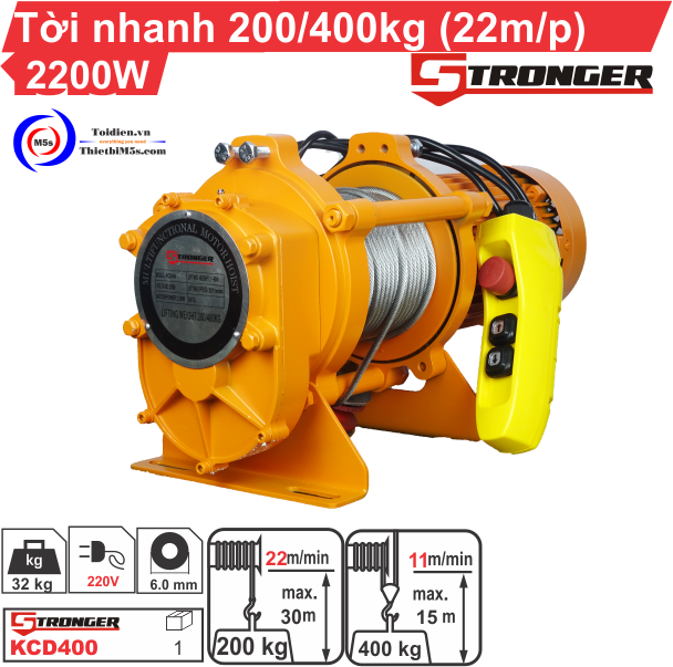 TỜI XÂY DỰNG STRONGER 200-400KG