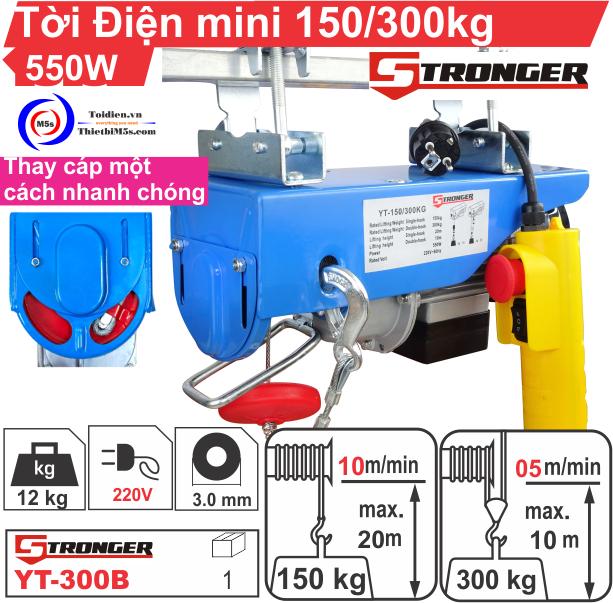 TỜI ĐIỆN MINI 150-300KG STRONGER