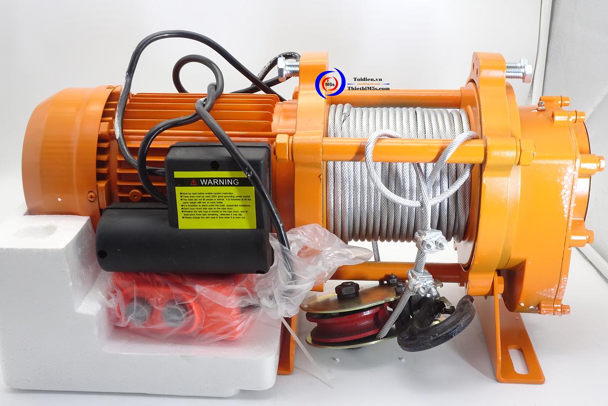 Đánh giá tời điện 500kg Nhật Bản
