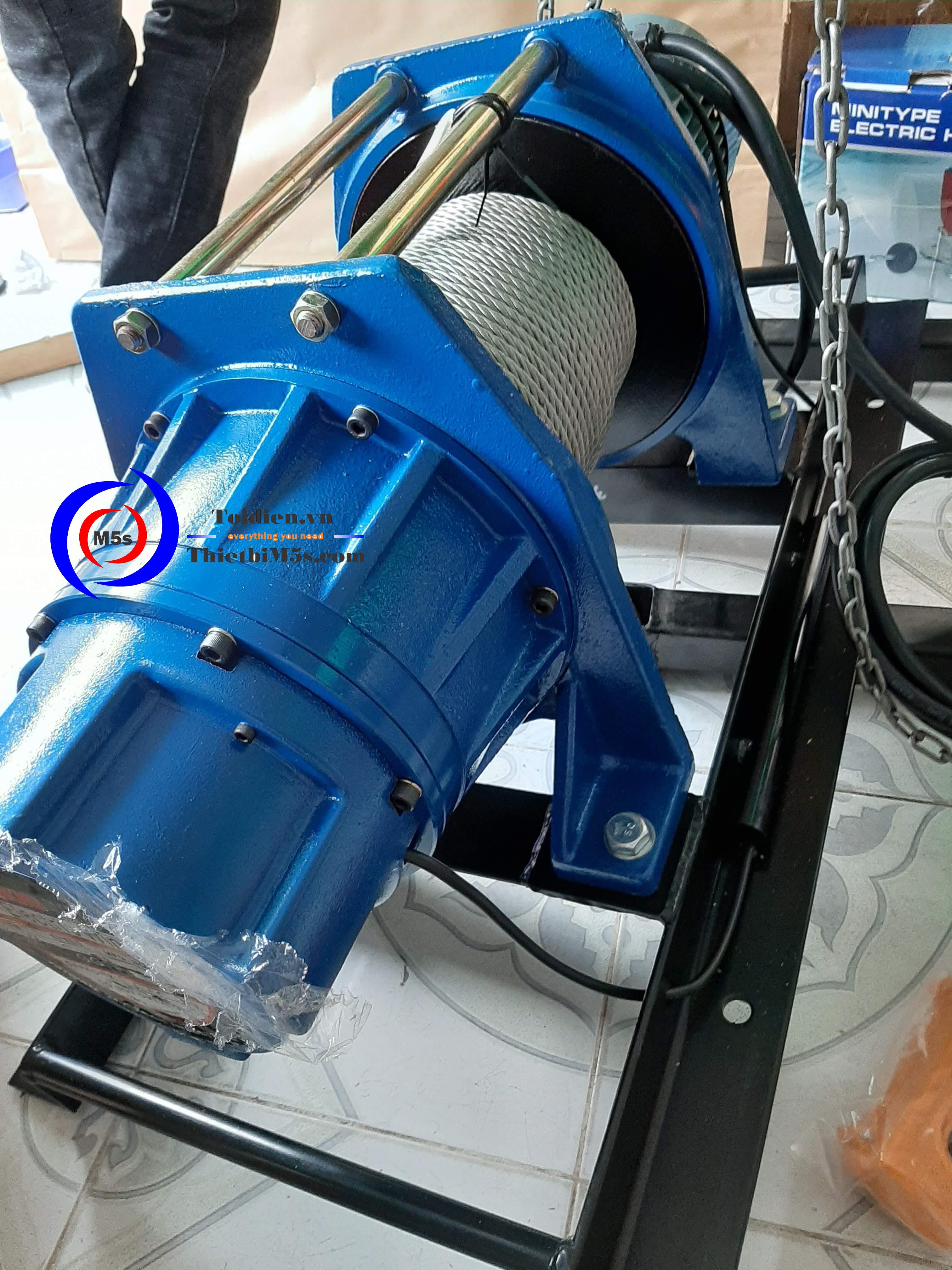 Máy tời điện KIO Winch - thay thế máy tời đã qua sử dụng