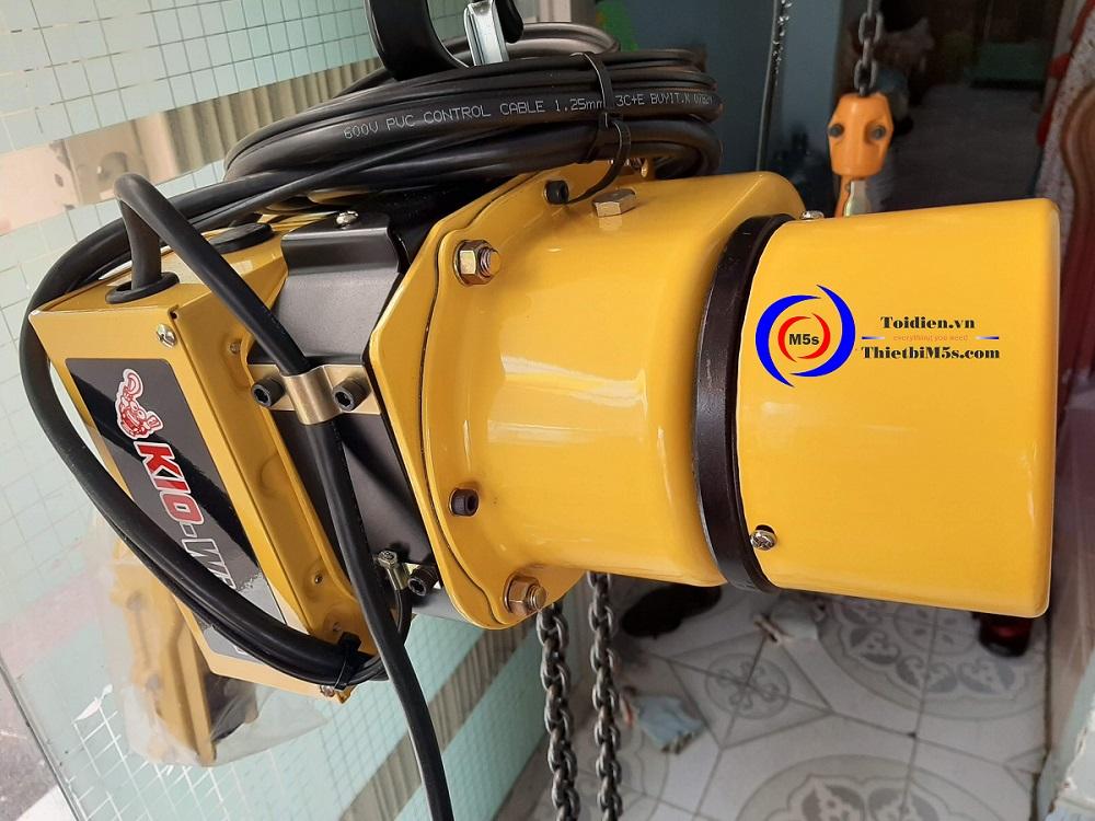 Palang xích điện KIO Winch - thay thế palang điện cũ