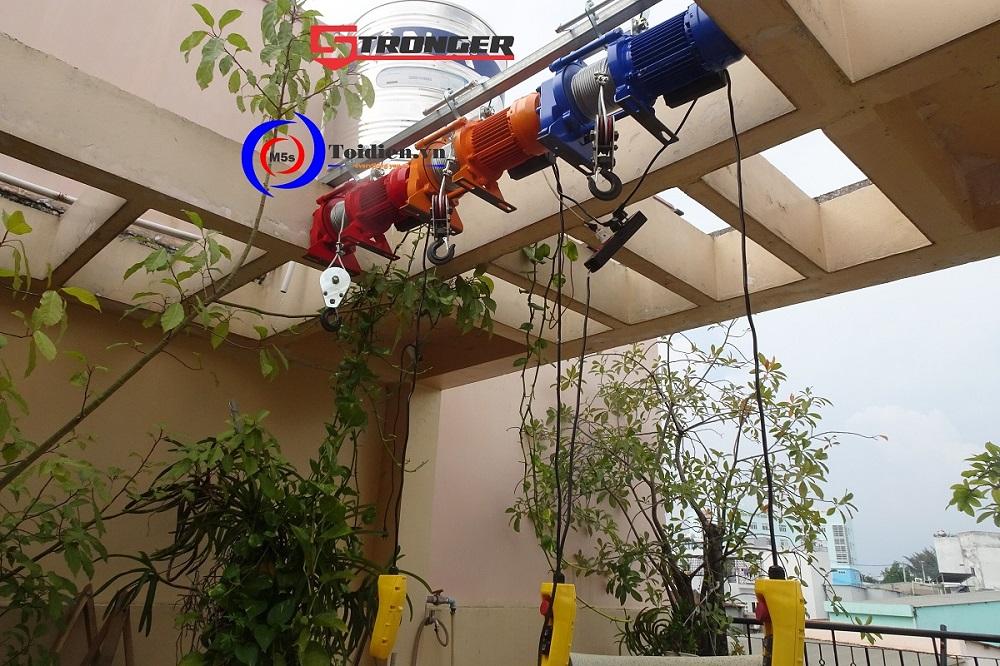 Máy tời điện tốc độ cao Stronger