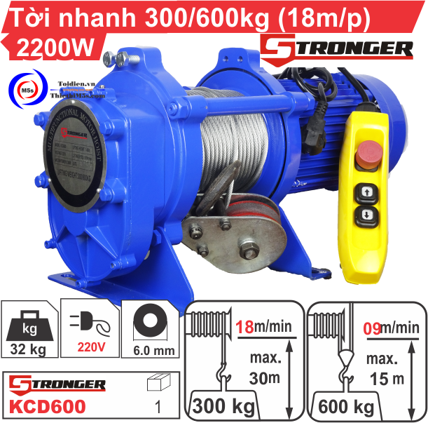 TỜI XÂY DỰNG STRONGER 300-600KG
