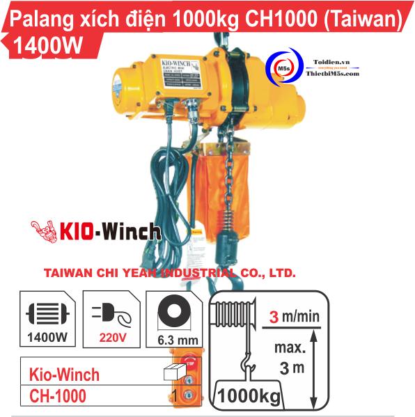 Palang điện 1 tấn KIO Winch