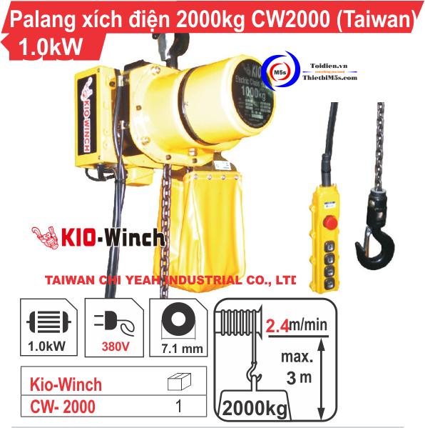 Palang điện 2 tấn KIO Winch