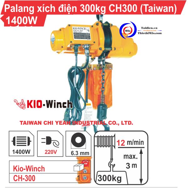 Palang xích điện KIO Winch