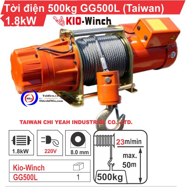 Máy tời điện KIO Winch