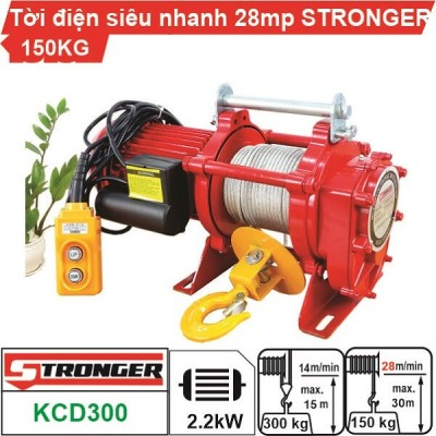 TỜI XÂY DỰNG STRONGER 28m/p 150-300KG