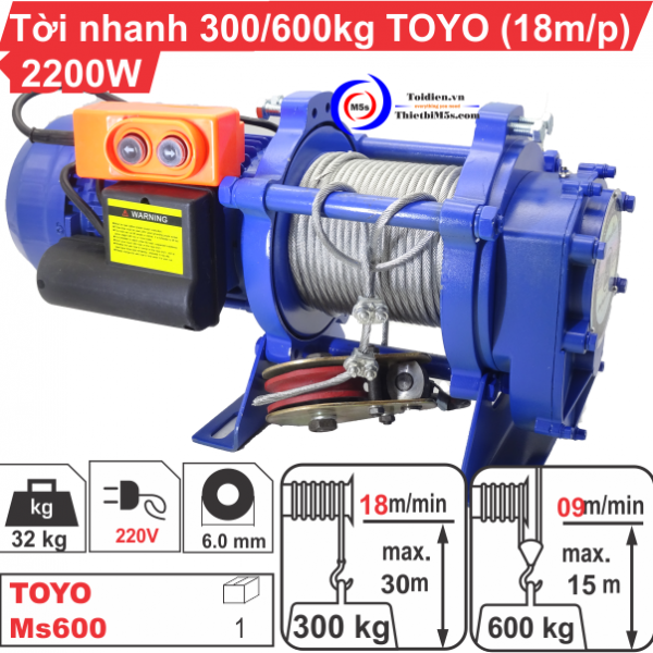 TỜI XÂY DỰNG TOYO 600Kg